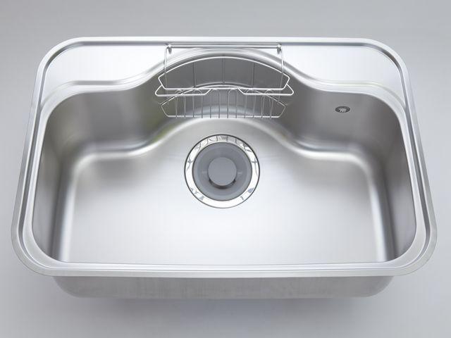 KL-168  厚み1mmステンレス キッチンシンク